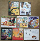 Lot of 8 Calvin and Hobbes paperback books by Bill Watterson