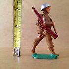 Rare! Vintage Manoil M105 #79 Soldier Marching With Gun Slung At Angle