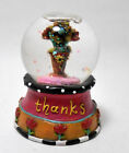 Minature Lori Siebert Thanks Friend Snow Globe Snowdome So Cute!