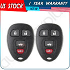 2 New Keyless Entry Remote Key Fob for GM Chevy Saturn Buick Transmitter Clicker