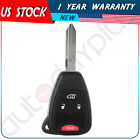 Replacement Uncut Remote Key Keyless Entry Combo Transmitter Fob for KOBDT04A