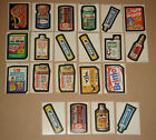 WACKY PACKAGES 1973 ORIGINAL 2ND SERIES 2 - Partial Set of 15 30 +6 Extras