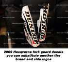 fork guard decal sticker for 2009 2010 2011  Husqvarna 510 450 smr TE