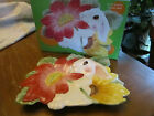 Fitz & Floyd Bunny Blooms  Canape Plate   In original box