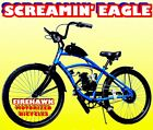 USA SELLER 2018 SCREAMING EAGLE GAS PETROL MOTOR BIKE 48 49 50 CC MOPED SCOOTER