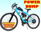 POWER BUMP 80cc Gas Motor MOTORIZED ENGINE WITH A 26 BIKE BICYCLE MOPED SCOOTER