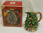 ~NEW IN BOX~SPODE CHRISTMAS TREE PITCHER 8 1/4