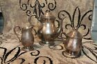 CAMILLE 6002 COFFEE TEA POT SUGAR 6004 CREAMER MILK INTERNATIONAL SILVER COMPANY