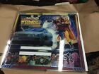 NOS Data East Back to the Future pinball backglass
