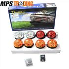 LAND ROVER DEFENDER COLOURED 73mm LED POSITION LIGHT BOX SET WITH RELAY BA9719