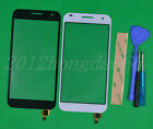 New Touch Screen Digitizer Glass Lens For Huawei Ascend G7(White Black)