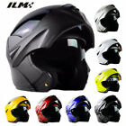 8 Colors DOT Modular Dual Visor Flip Up Motorcycle Helmet Motocross Full Face