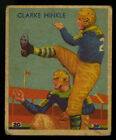 1935 NATIONAL CHICLE FOOTBALL #24 CLARKE HINKLE CENTERED HOF GREEN BAY PACKERS