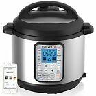 Instant Pot IP-Smart Bluetooth-Enabled Multifunctional Pressure Cooker, Stainles