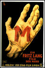 M FRIDGE MAGNET 6x8 Fritz Lang Classic Magnetic Movies Poster