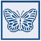 Flexible Stencil BUTTERFLY Embossing Pricking Card Making 95cm x 95cm