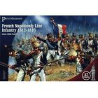 French Napoleonic Line Infantry 1812-15 Perry Miniatures 28mm 42 figures 201