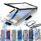 Waterproof Shockproof Dirt Proof Clear Case For Samsung Galaxy S7 edge S8 Note 8