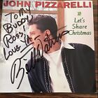 Let's Share Christmas by John Pizzarelli (CD) AUTOGRAPHED BY RAY KENNEDY/WATROUS