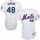 Majestic Jacob deGrom New York Mets White Home 6300 Player Authentic Jersey