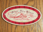 Fitz & Floyd Bless This House Hostess Gift Tray Town & Country Red & White