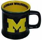 NEW NCAA Michigan Wolverines Mug Ceramic Relief FREE SHIPPING