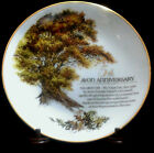 THE GREAT OAK Fifth Anniversary Avon Representative Comemorative Plate 8-1/2