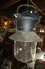 EARLY VINTAGE KEROSENE LODGE LIGHT FIXTURE LARGE SIZE ARCHITECTURAL SALVAGE