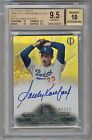 2014 Topps Tribute Gold SANDY KOUFAX Auto 3 15 BGS 9.5 10 POP 1 1 INSANE SUBS!!!
