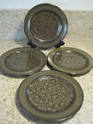 FRANCISCAN MADEIRA 4 four Salad/Dessert Plates 8.5 with stamps