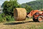 HD Double Bale Spear Attachment For Loader And Skid Steer Buckets 2x39Prongs