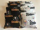 PITTSBURGH STEELERS CORNHOLE BEAN BAGS SET OF 8 TOP QUALITY TOSS GAME
