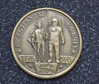 Bicentennial Journey 1776-1976 Bronze Medallic Coin  38mm Round   C3363