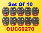 10X Lot Set of 10 Button Pads 6 Buttons Rear Hatch Power Glass OUC60270 15913427