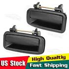 Pair For 1989 1992 GEO PRIZM Outside Rear Left Right Driver LH RH Door Handle