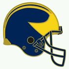 MICHIGAN WOLVERINES HELMET COLLECTOR PIN NEW FREE SHIPPING