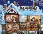 White Mountain Puzzles Christmas House Jigsaw Puzzle 1000 Piece