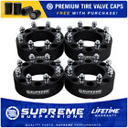 2003 2009 Hummer H2 2WD 4WD Complete 4 Full Set 2 Billet Wheel Spacer Kit