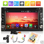 Newest 1080P 2 Din Pure Android Car DVD Stereo Radio player GPS Wifi 3G+Camera