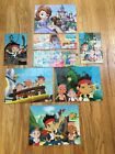 Disney Jigsaw 11 Puzzles Lot Wood Coded on Back for Ease of Use