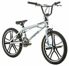 20-Inch Mongoose Boy's Legion Mag Bicycle Outdoor Sport 4 Freestyle Bike Silver