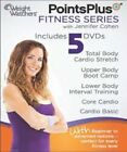 Weight Watchers Points Plus Fitness Series 5 DVDs