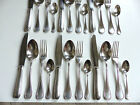 CHRISTOFLE PERLES FLATWARE 24 PIECES 6 PLACE SETTING