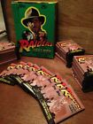 Indiana Jones Raiders Of The Lost Ark Full 36Pack Box Trading Cards 1981 VINTAGE