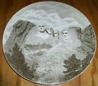 Vintage Johnson Bros England Mount Rushmore Dinner Plate Size Wall Hanging
