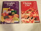 Lot of 2 WEIGHT WATCHERS 2003 COMPLETE FOOD Dining out WINNING POINTS