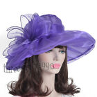 Vintage Ladys Horse Racing Party Hat Derby Church Sunday Hat S040 XF