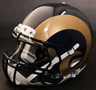 ST. LOUIS RAMS NFL Authentic GAMEDAY Football Helmet w S2BD Facemask