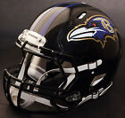 BALTIMORE RAVENS NFL Authentic GAMEDAY Football Helmet w S2BD Facemask
