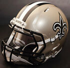 NEW ORLEANS SAINTS NFL Authentic GAMEDAY Football Helmet w S2BD Facemask